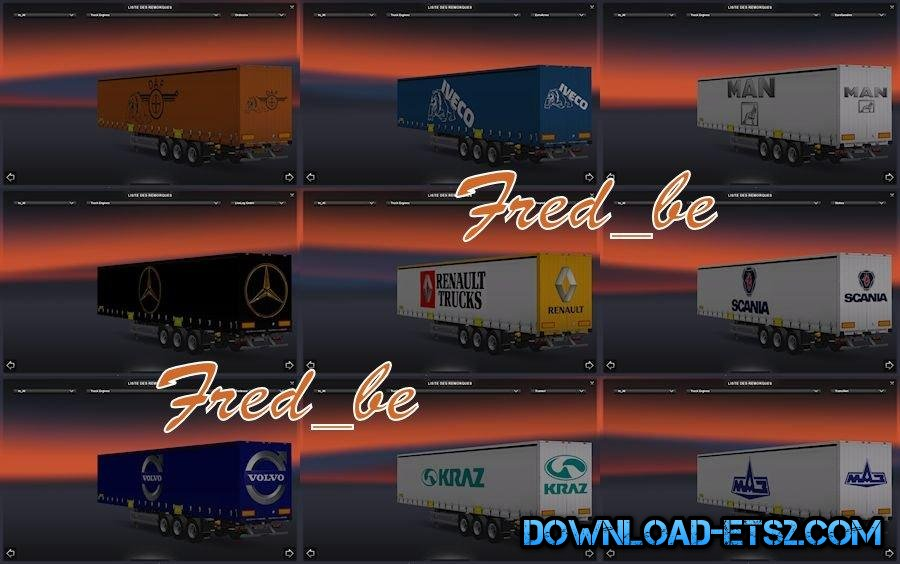 Trailers Truck Dealer(1.17.x) by Fred_be