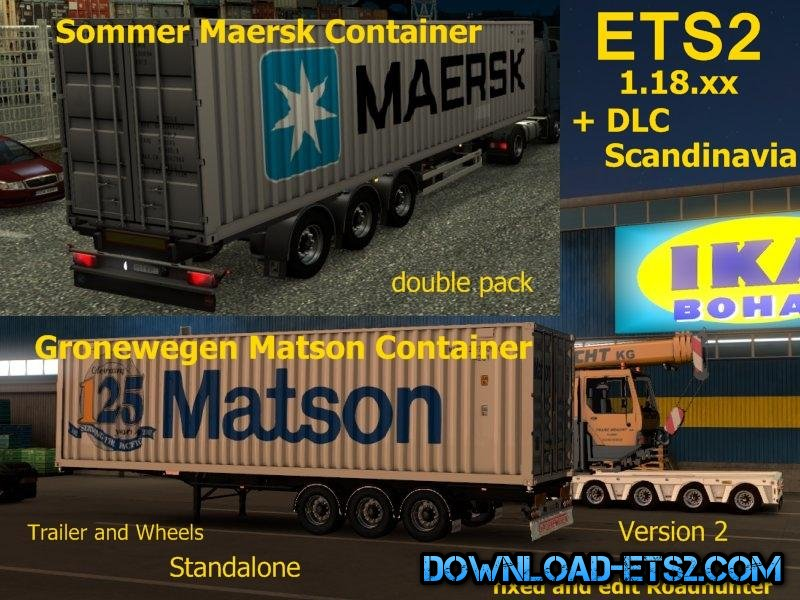 Container Trailer double pack in ao v2[1.18.x]