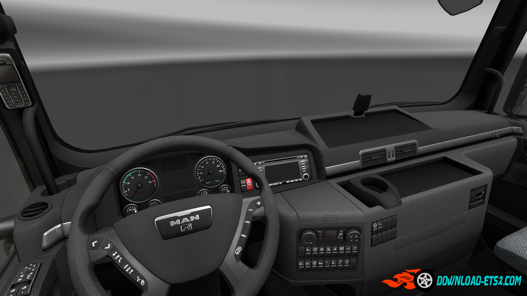 HD Gauges and Interior for MAN TGX