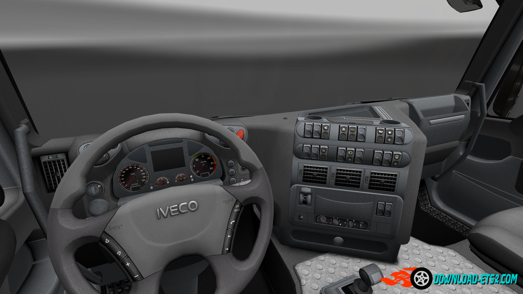 HD Gauges and Interior for Iveco Stralis