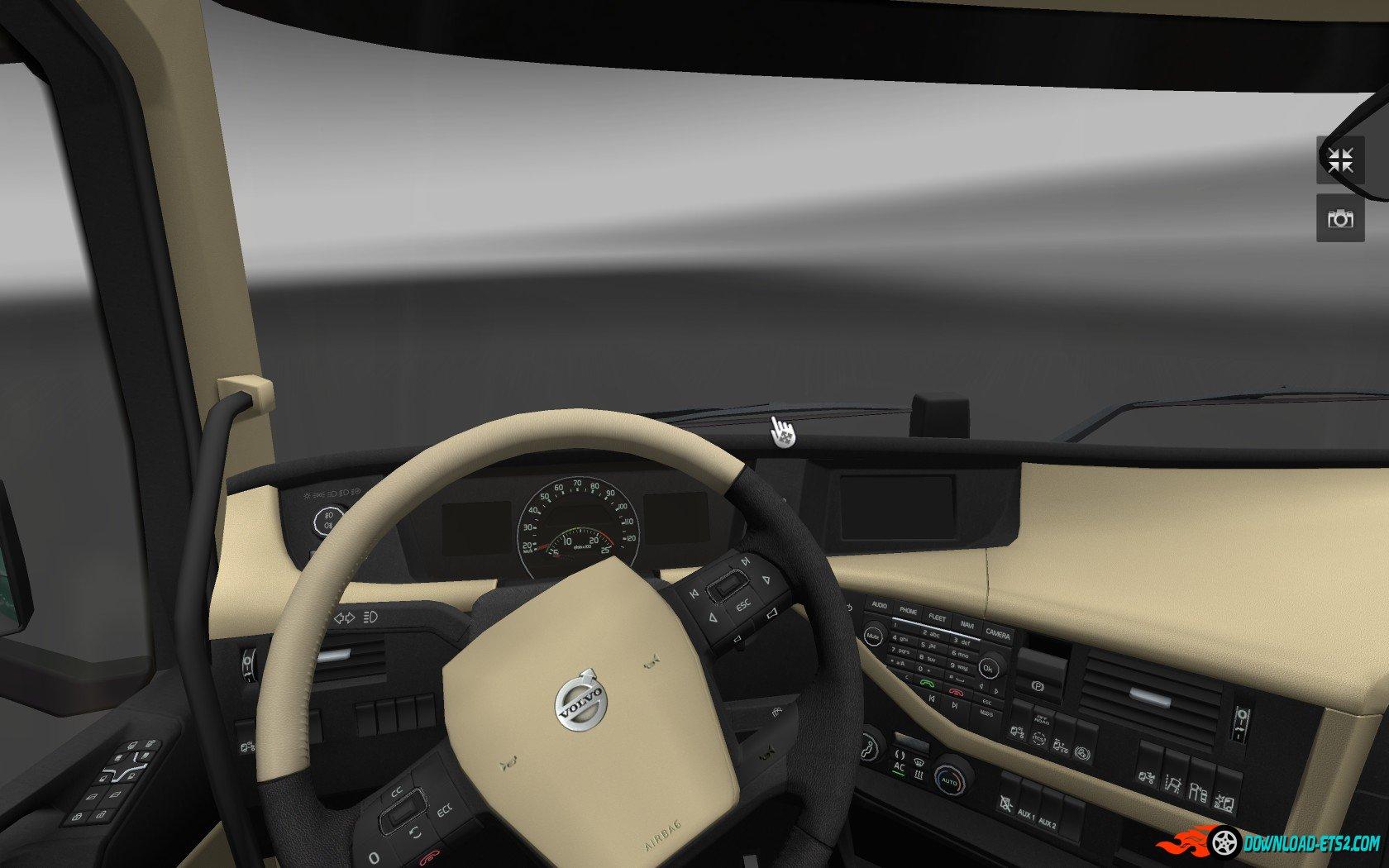 Volvo FH16 2012 - HD Interior v1.3 (by nIGhT-SoN)