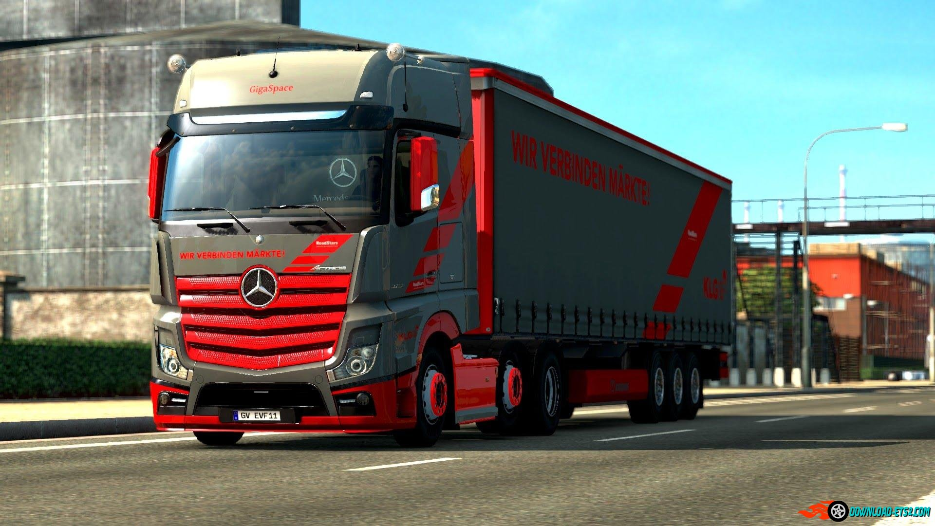 Mercedes Benz New Actros Loud Pipe (Fixed)