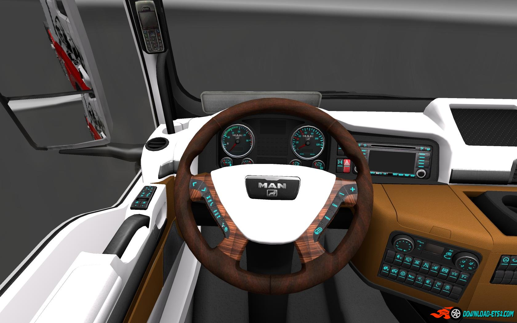 MAN TGX INTERIOR v2.0 by HUMMER2905