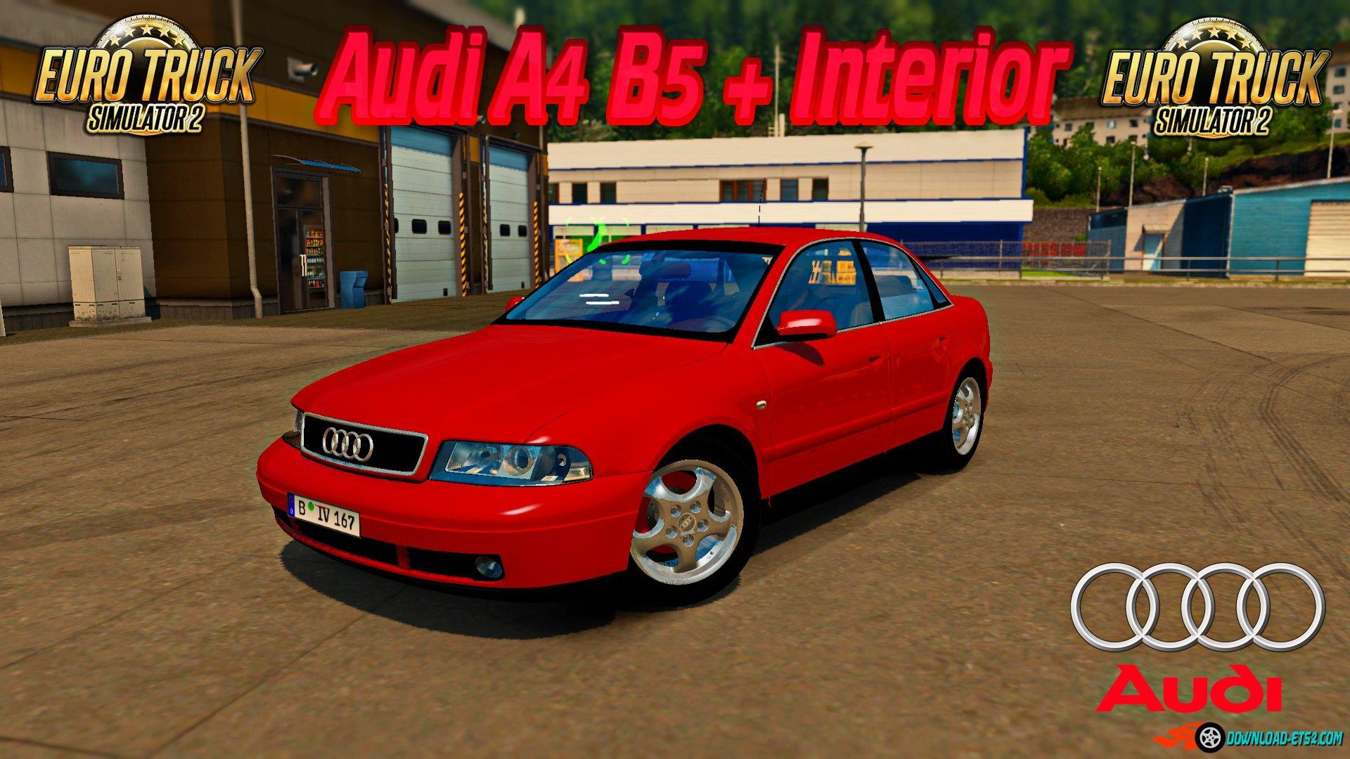 Audi A4 B5 + Interior v1.2 by Azorax Modding (1.34.x)