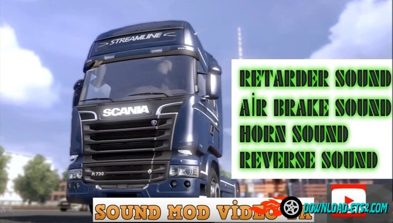Scania Sound Package v 1.0