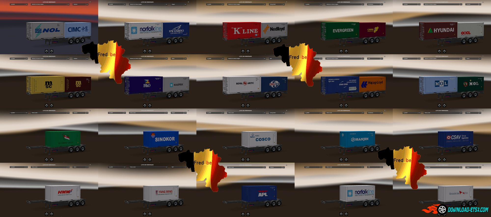 Trailer Pack Container V1.22