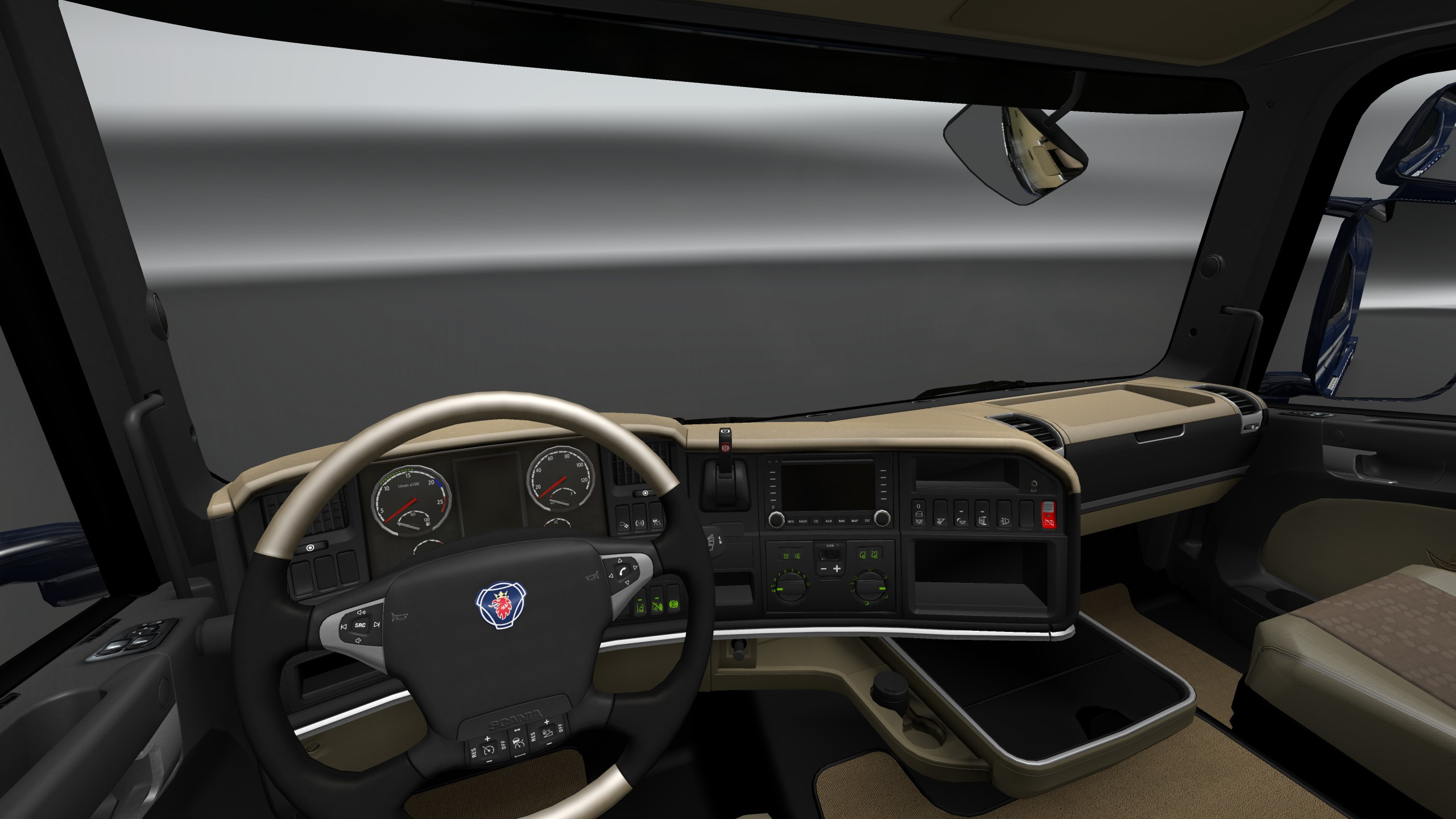 Scania trucks interiors & exteriors improvements pack v1.0