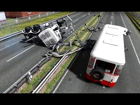 Euro Truck Simulator 2 - New Models - Crash Test