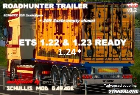 Schmitz 20ft Open Top Container (Updated) v 1.2