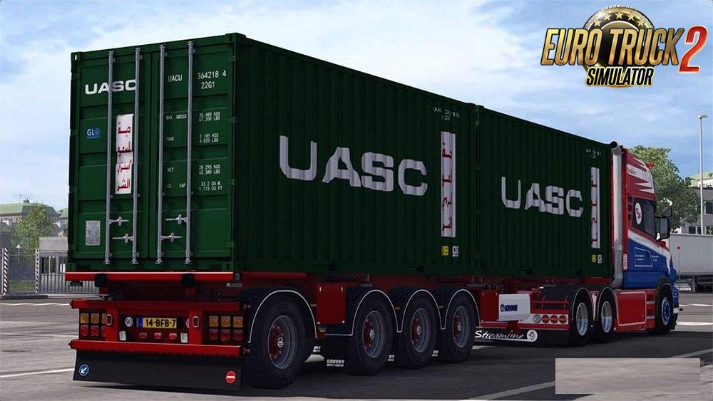 Krone Container v1.25 for Ets2