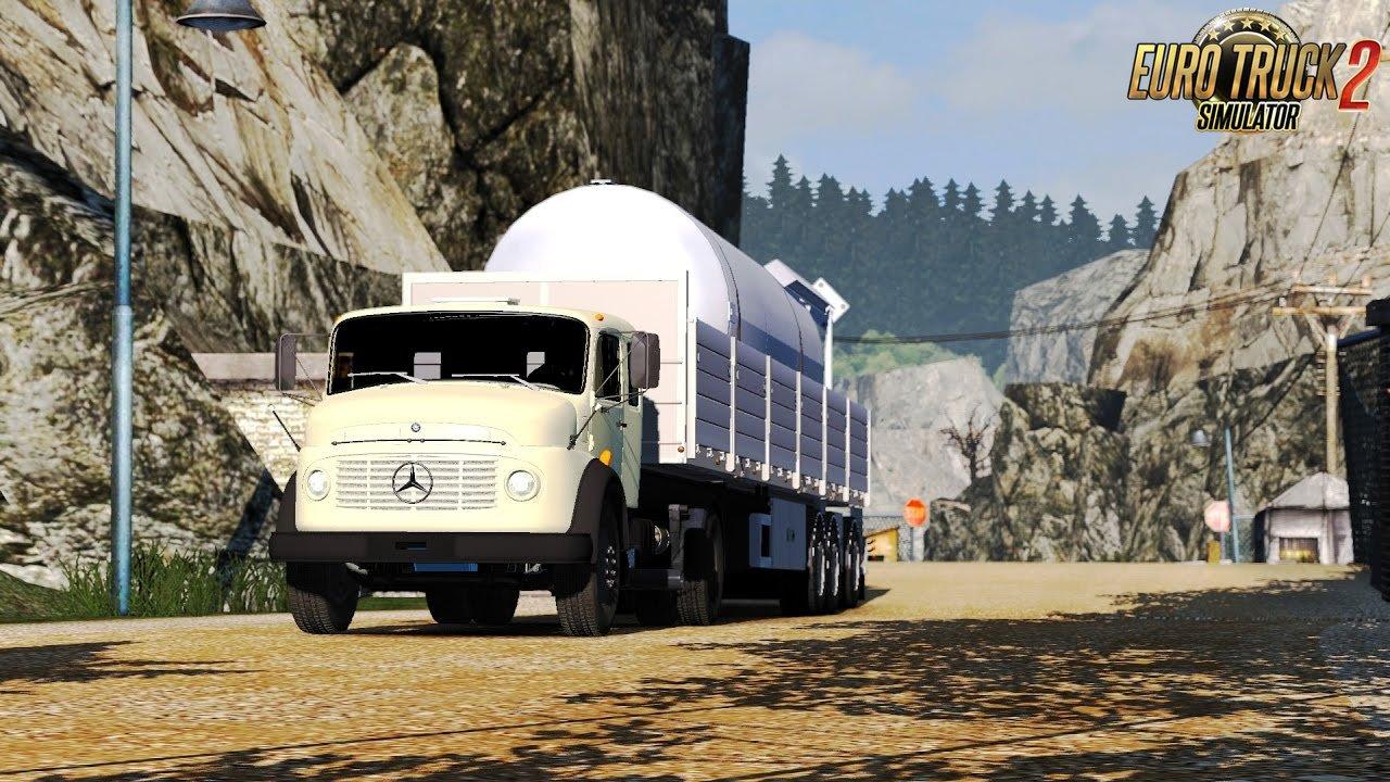 Mercedes Benz 1519: Katowicze - Budapest on ProMods 2.15 - Euro Truck Simulator 2