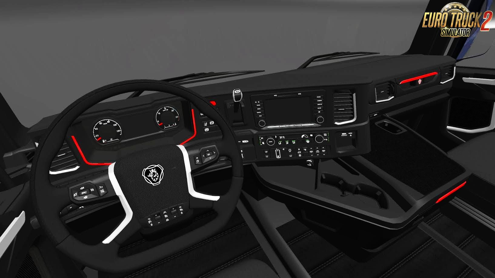 HD Interior for Scania S730 v1.0 (1.27.x)