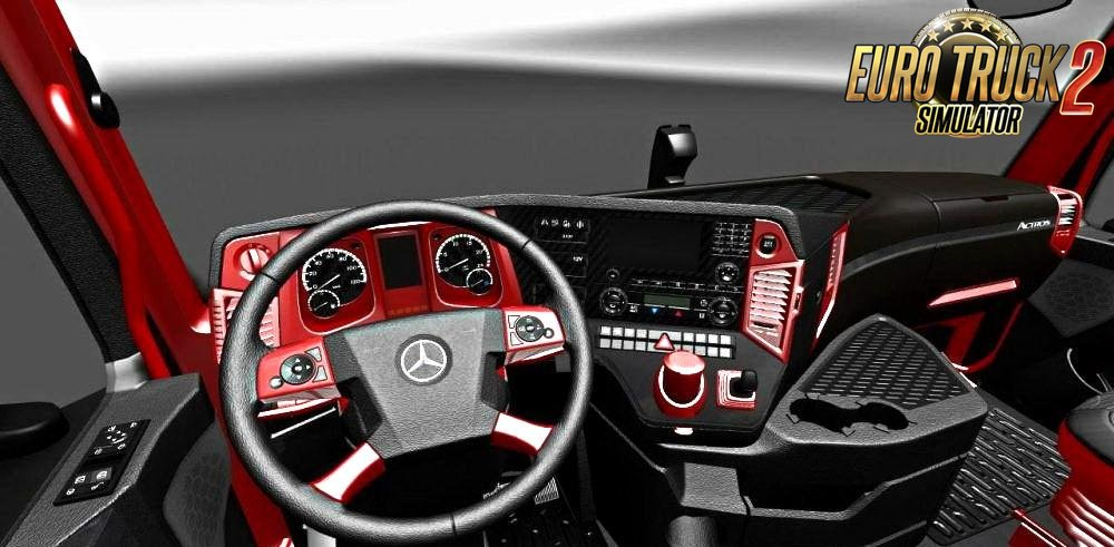 Mercedes MP4 Red Black Interior by Miki2424