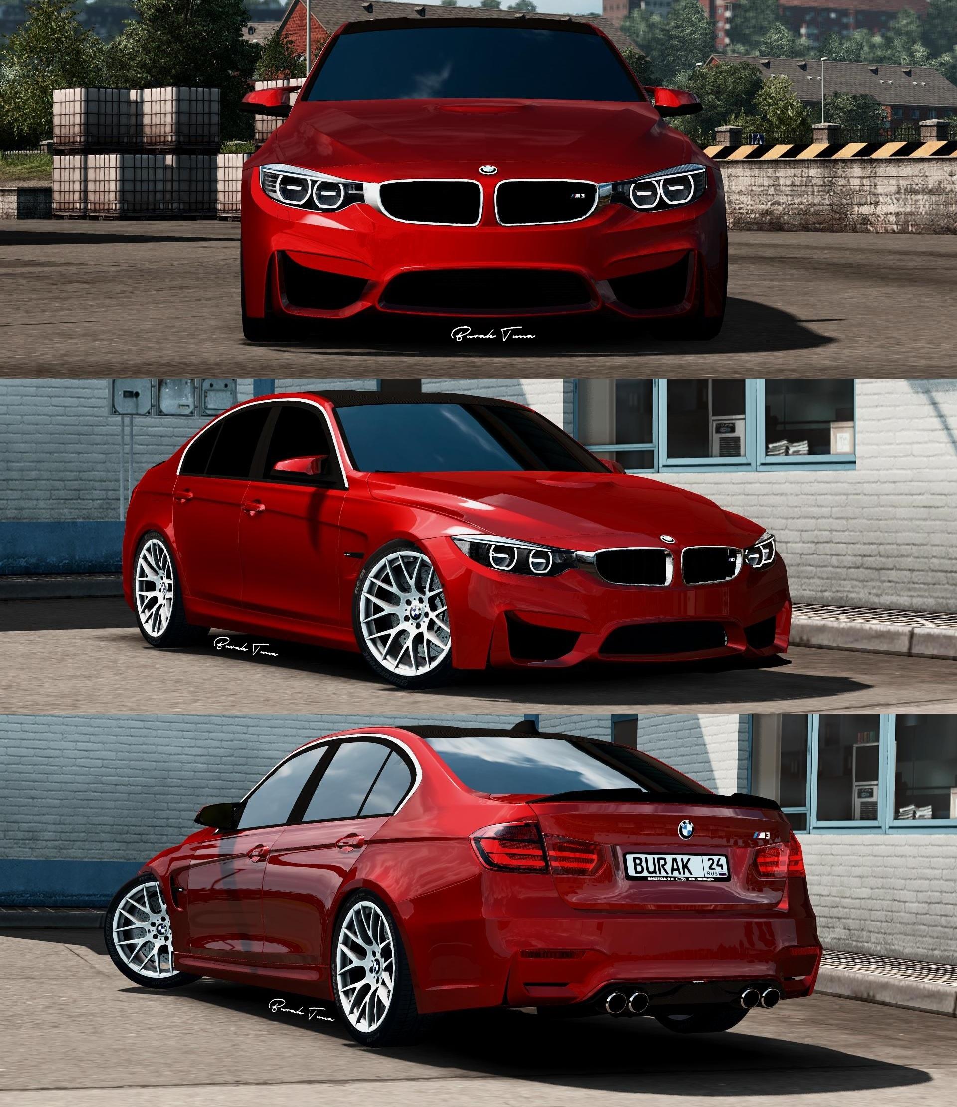 BMW M4 + BMW M3 F30 Sedan Package v1.0 (1.28.x)