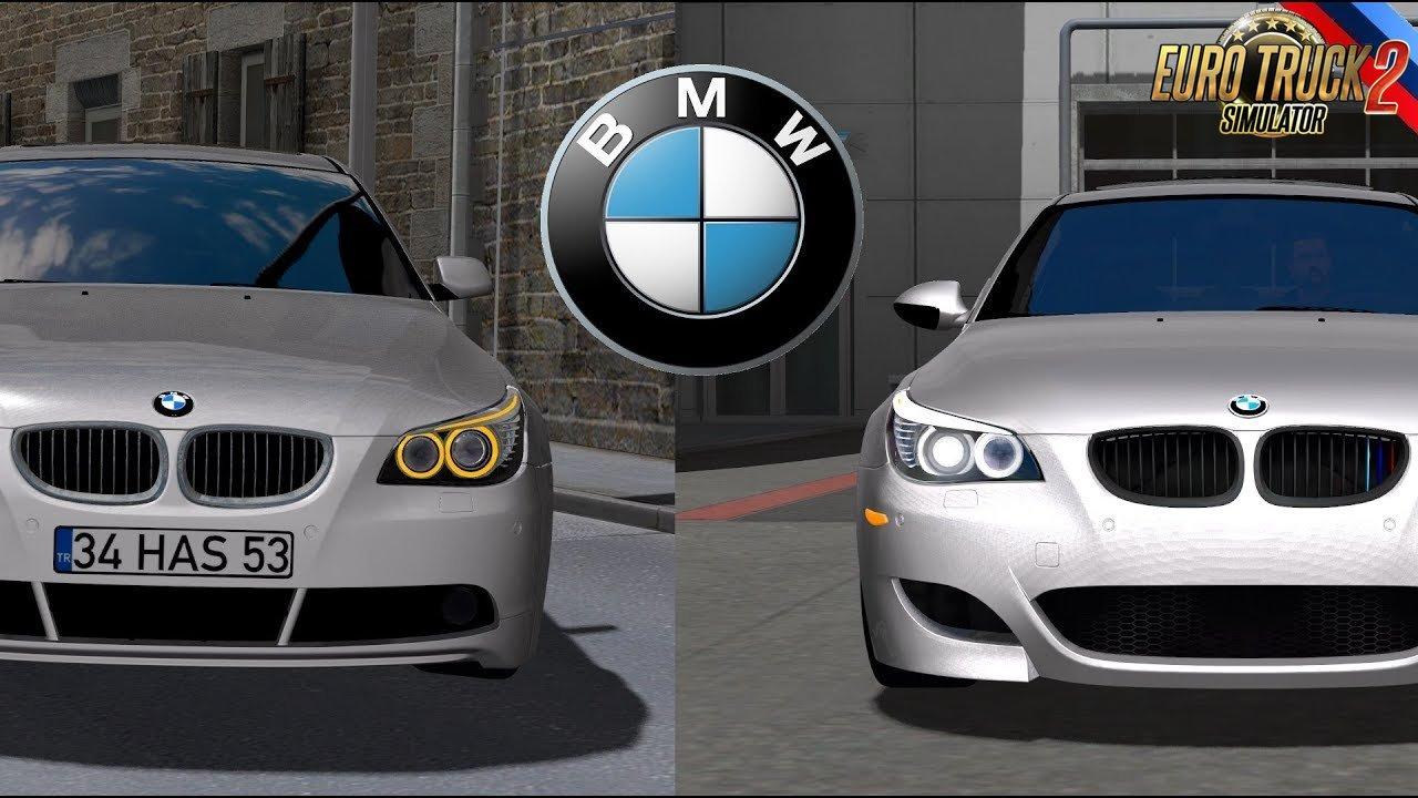 BMW 5 E60 + Interior v2.0 (1.28.x)