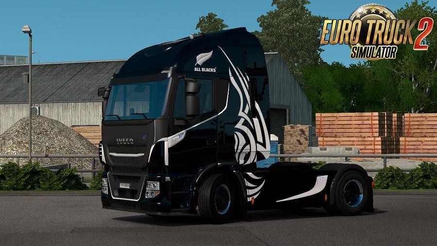 Emotional Trucks Skin Pack for Iveco Stralis / Hi-Way v1.0 (1.28.x)
