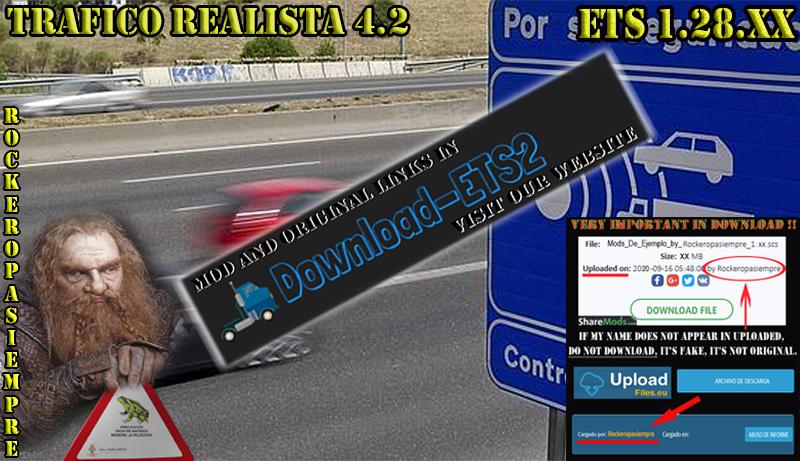 Realistic traffic 4.2 by Rockeropasiempre for V_1.28.XX