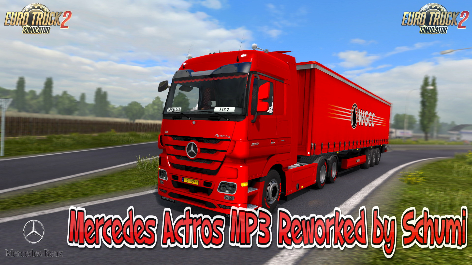 Mercedes Actros MP3 Reworked v3.0 by Schumi [1.36.x]