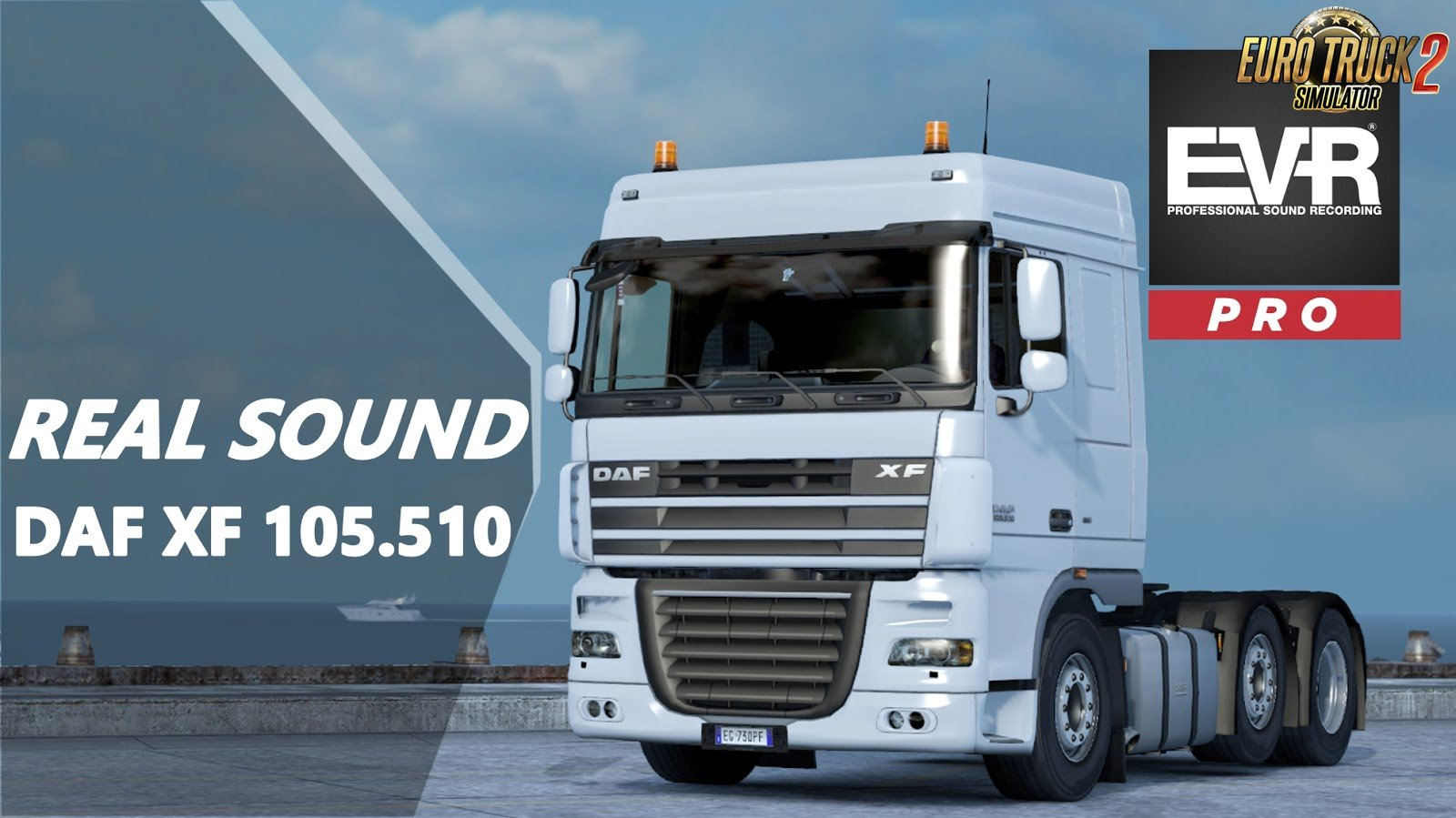 Real sound DAF XF 105.510 v1.5 Engine Voice Records