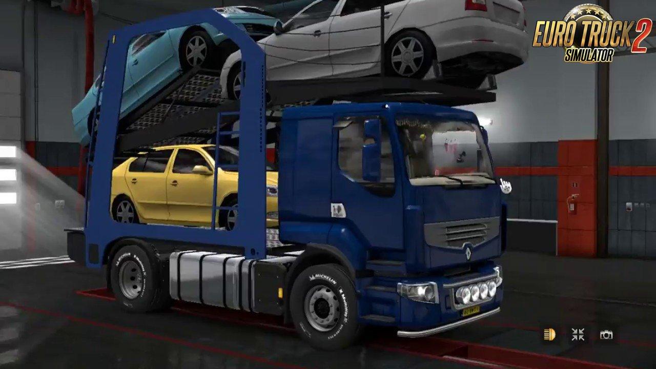 Renault Premium Car Transporter 1 30 X Ets2 Mods Scs Mods