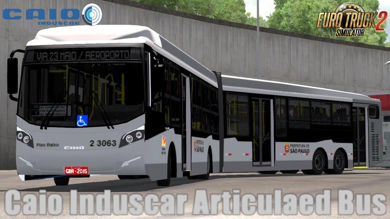 Caio Induscar Articulaed Bus v1.0 (1.30.x)
