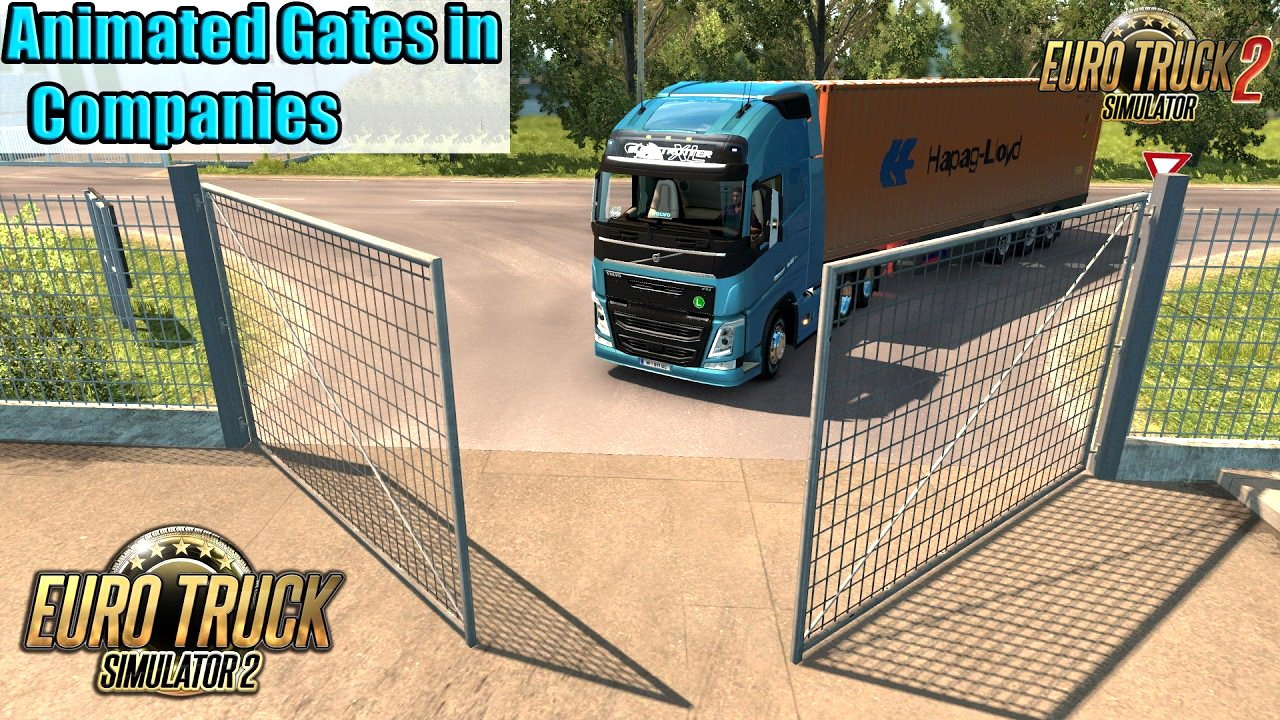 Animated Gates in Companies v3.5 by Schumi (1.35.x)