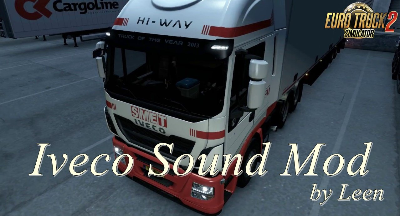 Iveco Sound Mod by Leen (1.35.x)
