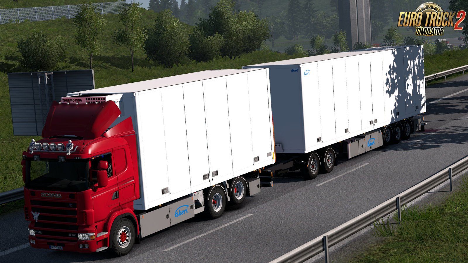 Tandem addon for RJL Scania RS and R4 v2.0 by Kast