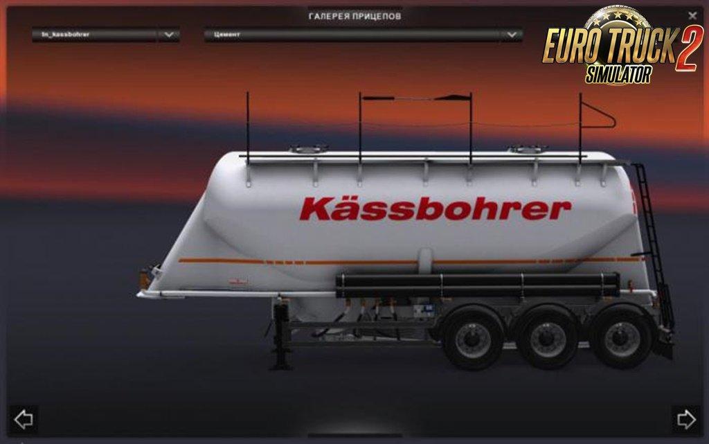 Kassbohrer Cement Trailer v2