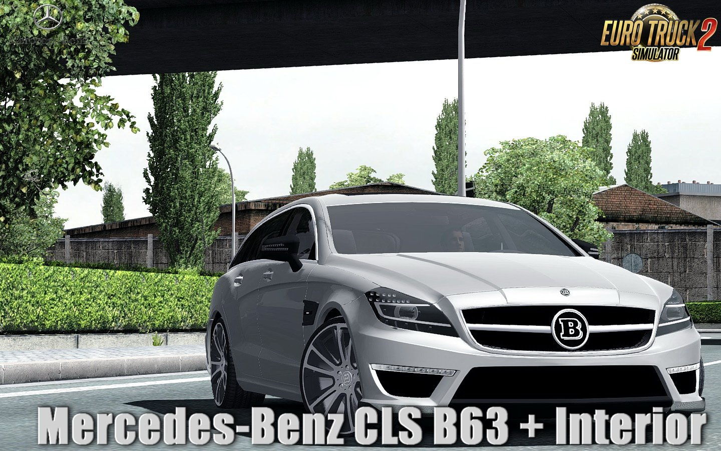 Mercedes-Benz CLS B63 + Interior v1.0 (1.31.x)