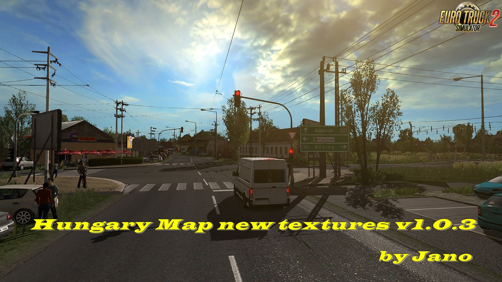 Hungary Map New Textures v1.0.3 by Jano