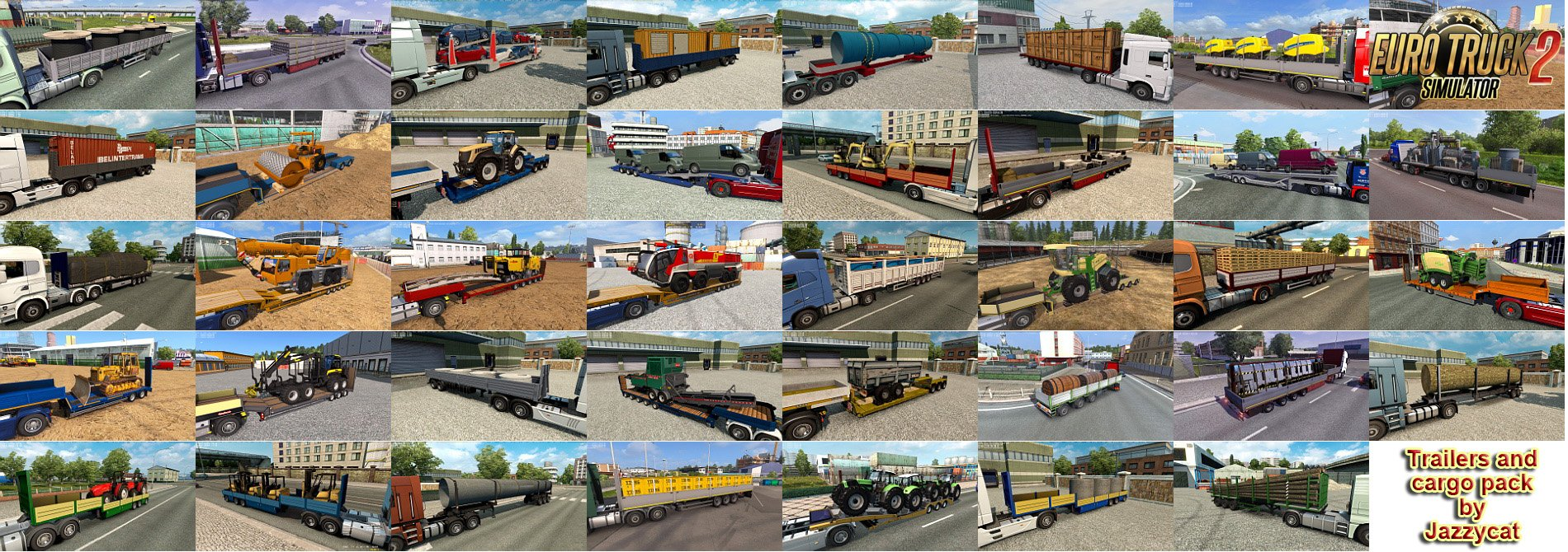 Trailers and Cargo Pack v8.1.1 by Jazzycat (1.36.x)