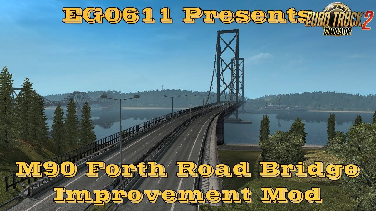 M90 Forth Road Bridge Improvement Mod v1.0