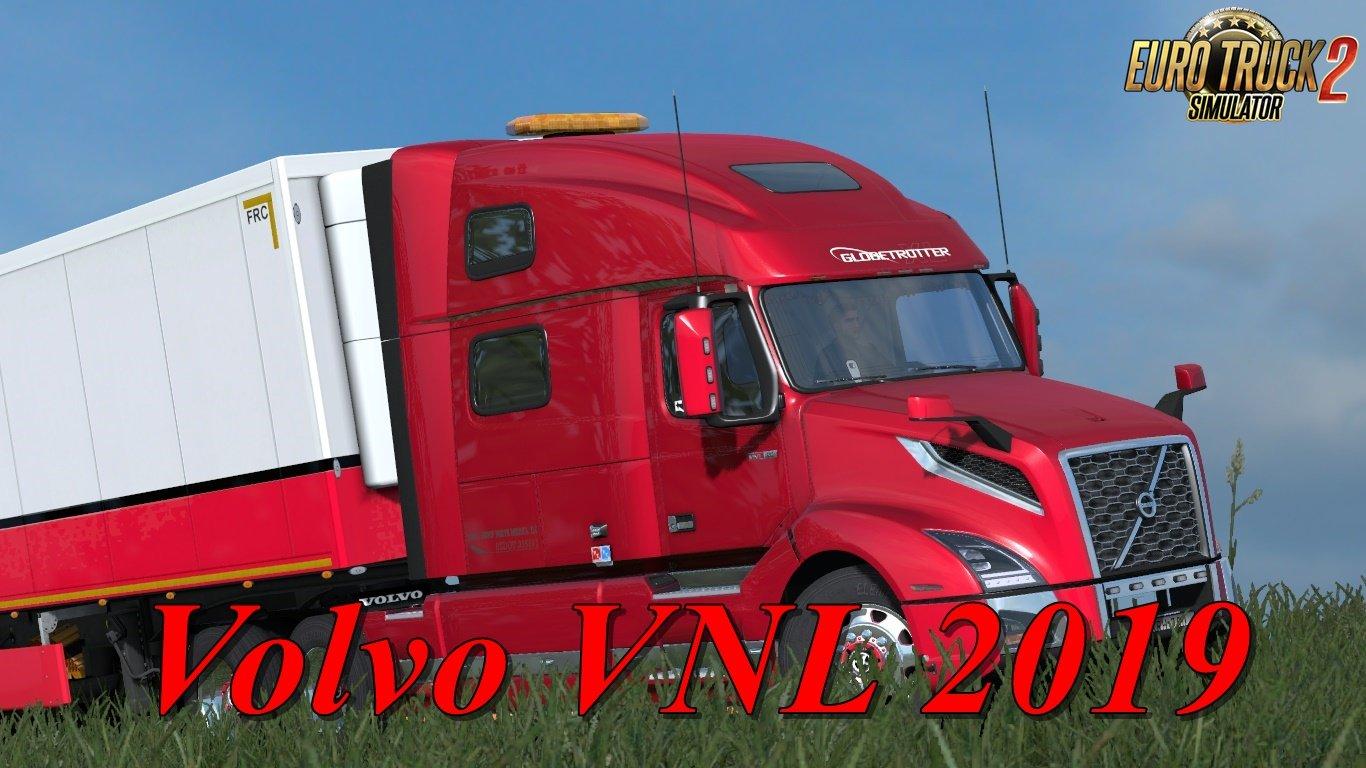 Volvo VNL 2019 v2.20 for Ets2 [1.35.x]