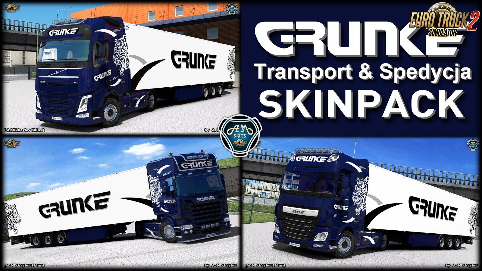 Grunke Transport & Spedycja Skin Pack v1.0 (1.32.x)