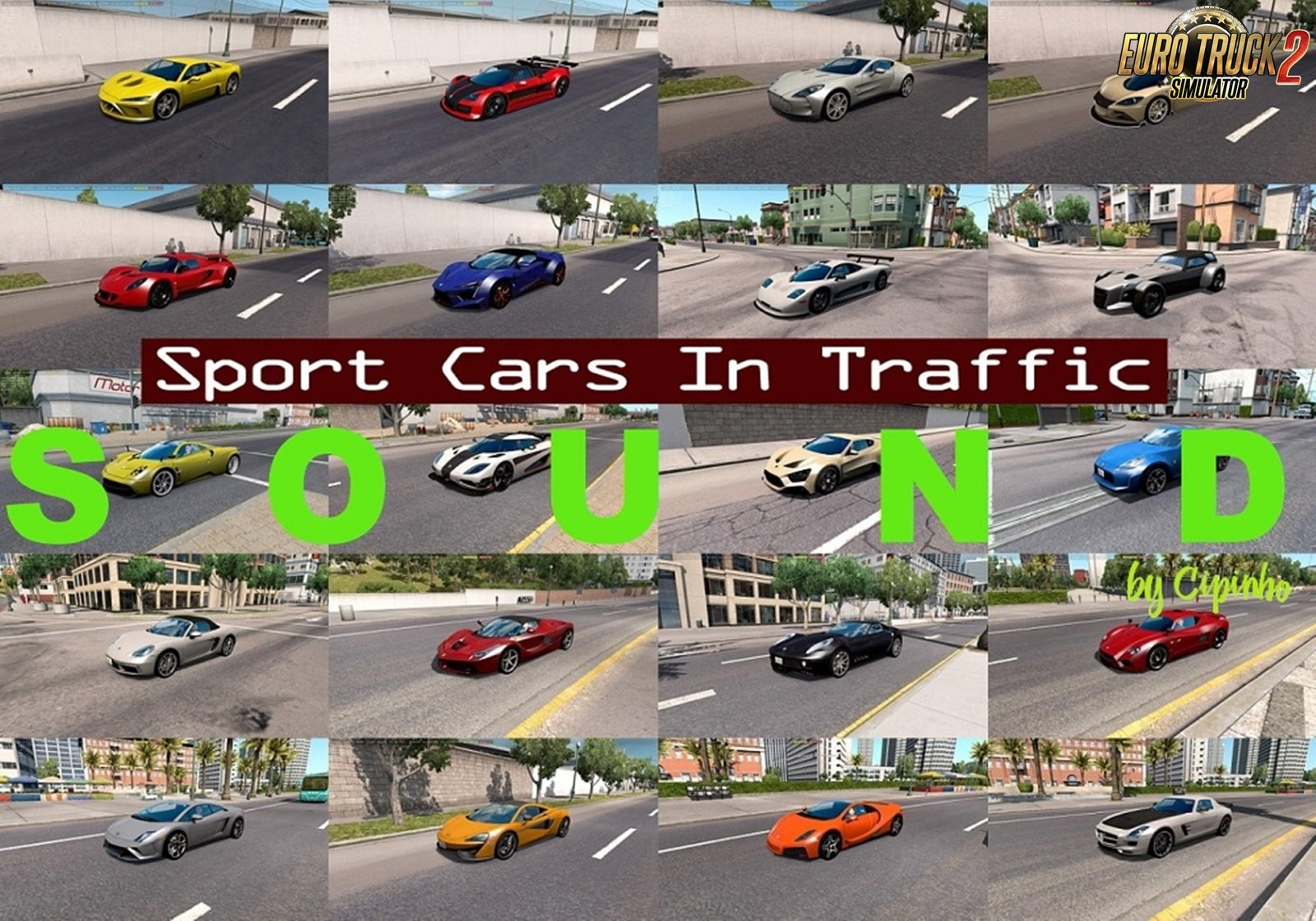 Sounds for Sport Cars Traffic Pack v5.5 by TrafficManiac