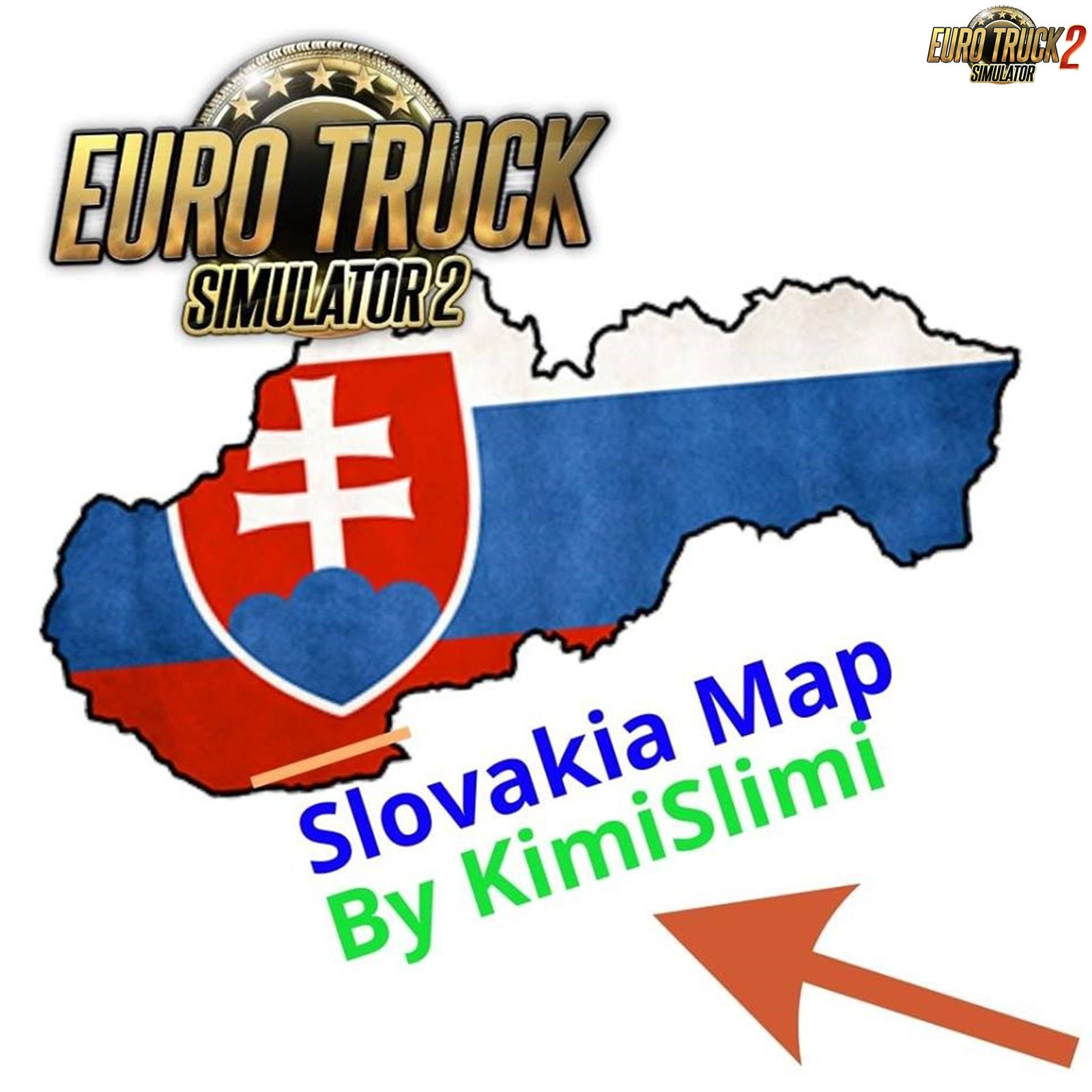 New Slovakia Map v5.0 by KimiSlimi [1.31.x]