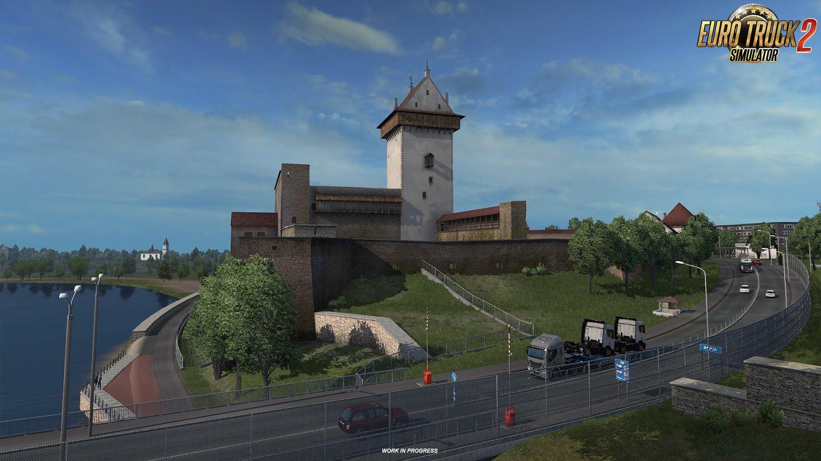 Baltic Landmarks screenshots from Beyond the Baltic Sea DLC