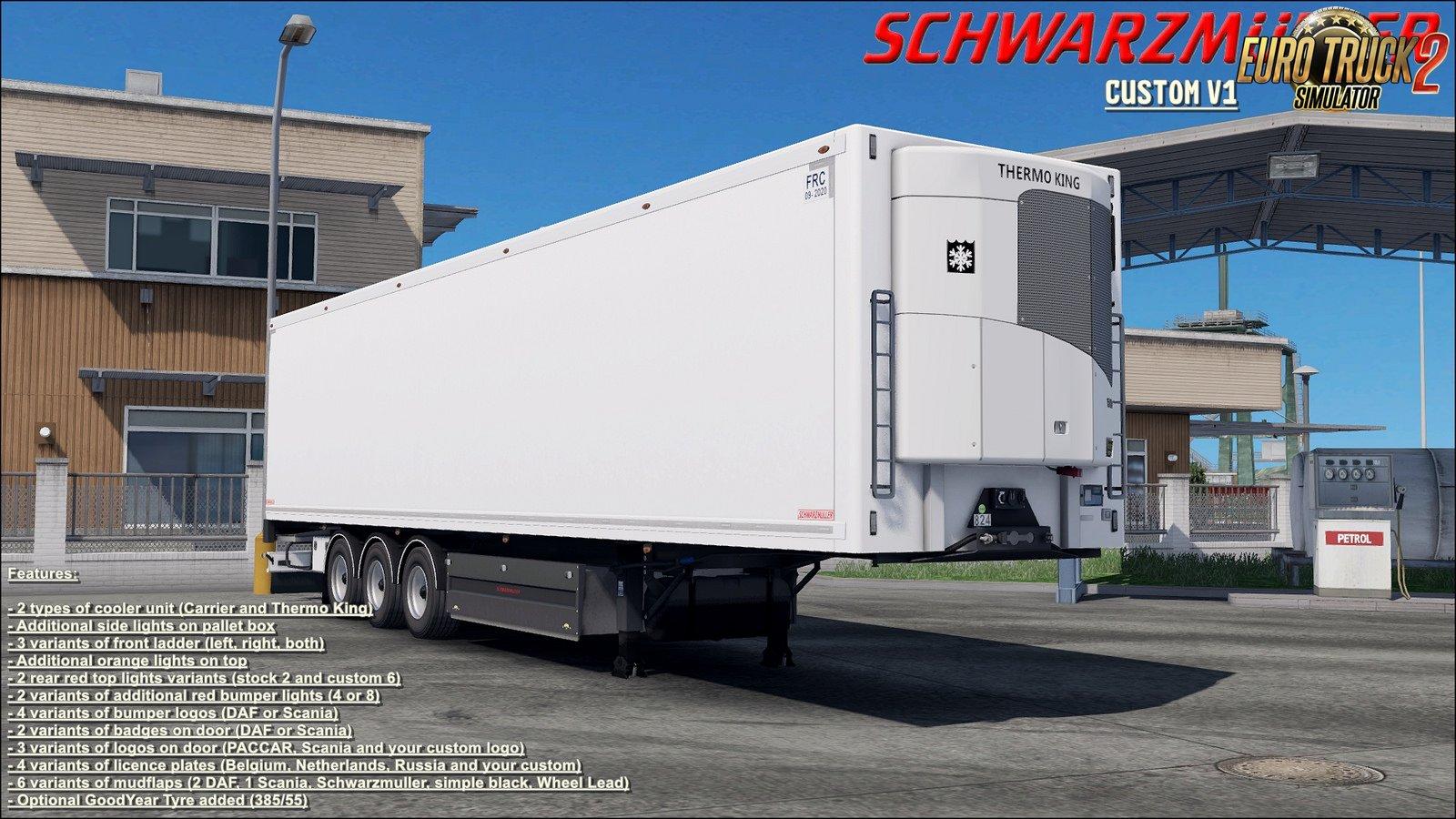 SCS Schwarzmuller Trailer Reworked v1 (1.32.x)