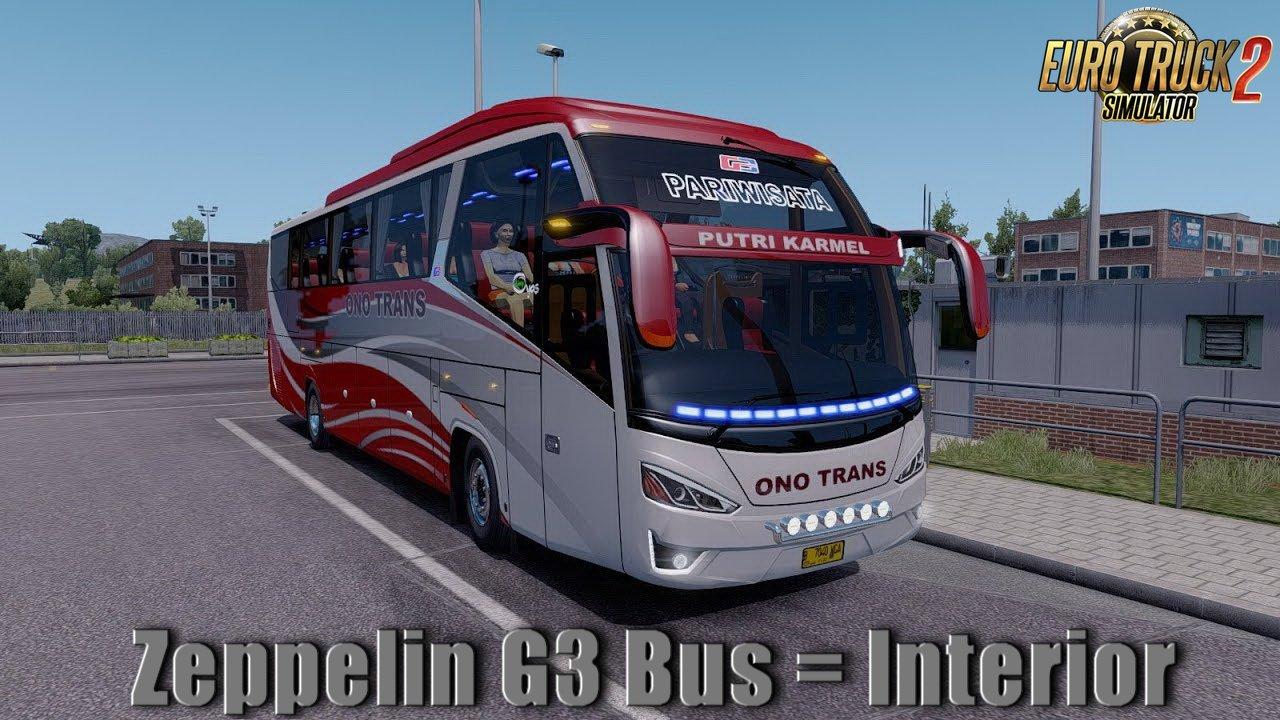 Zeppelin G3 Bus + Interior v1.0 (1.32.x)