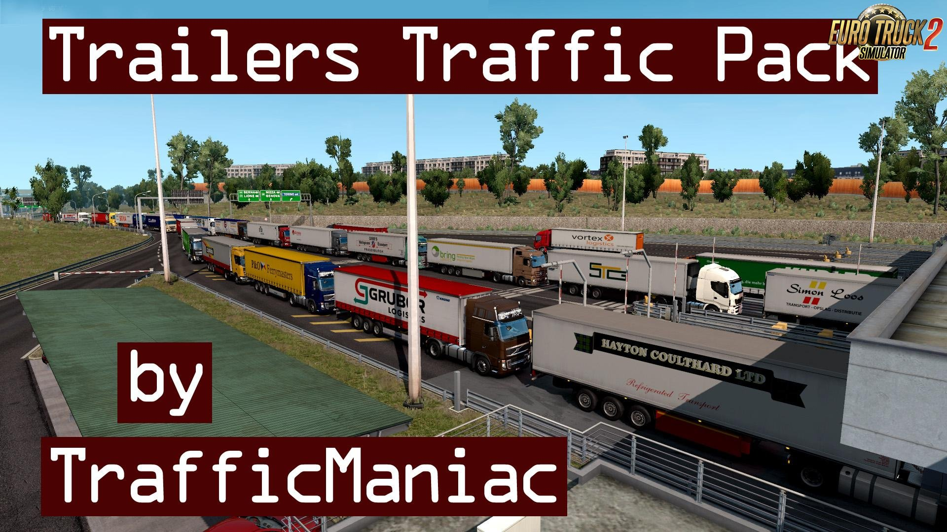 Trailers Traffic Pack v3.9 by TrafficManiac