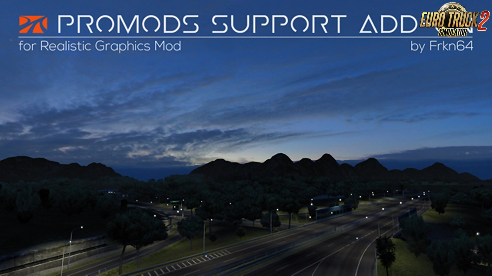 Promods Support Add-on v2.0 for RGM by Frkn64 (1.35.x)