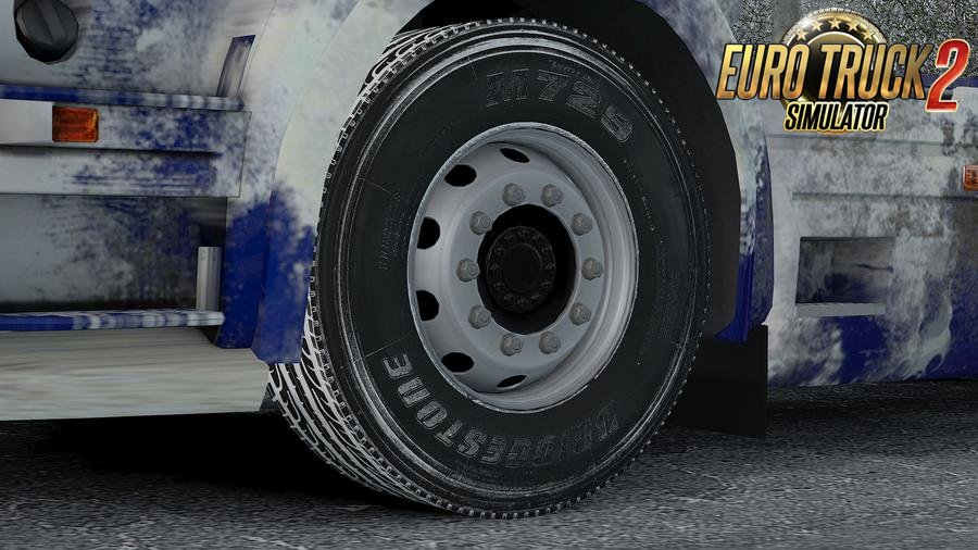 Bridgestone Snowy Tire v1.1 by Aradeth