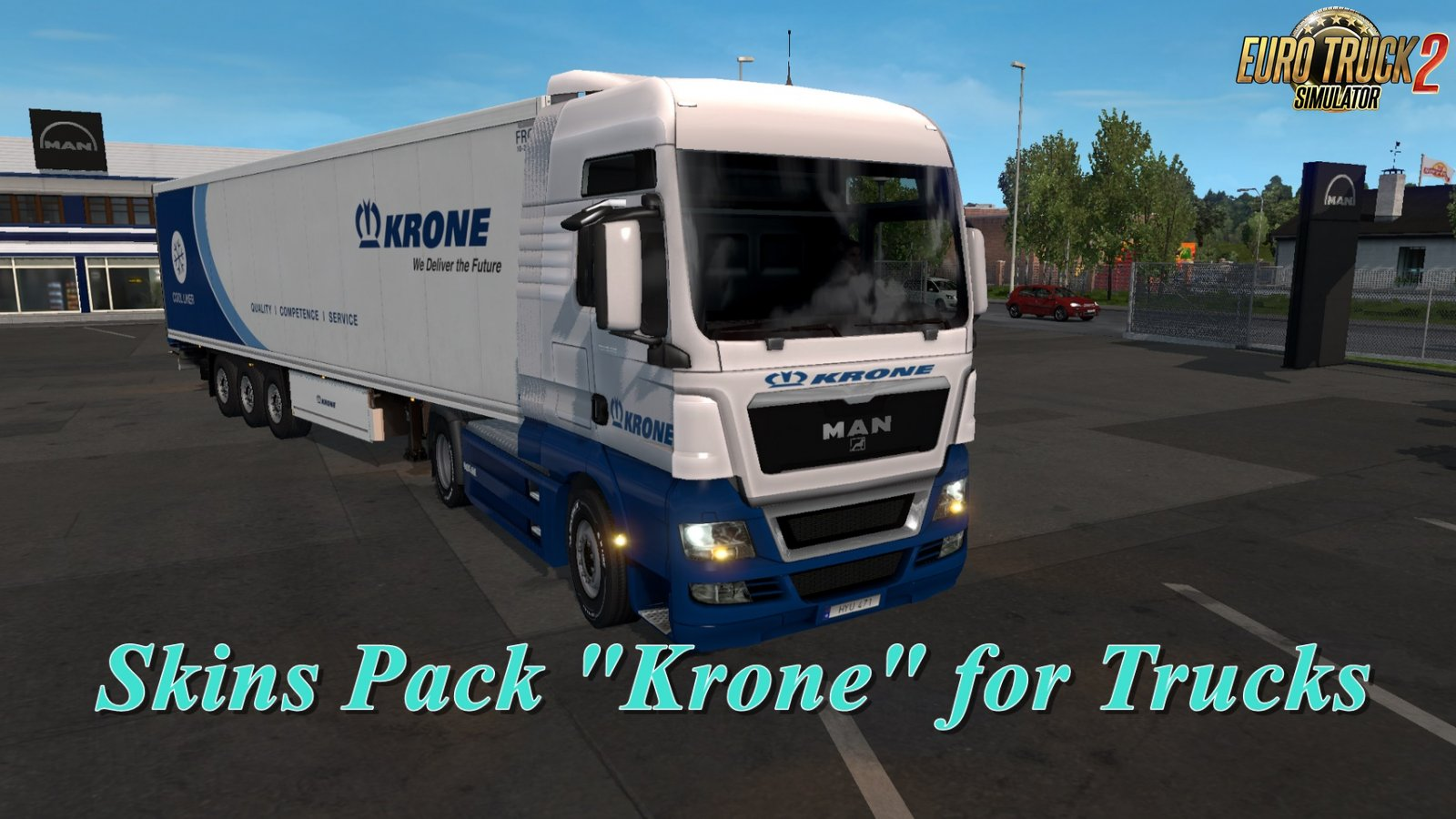 Krone Skins Pack for Trucks v3.0