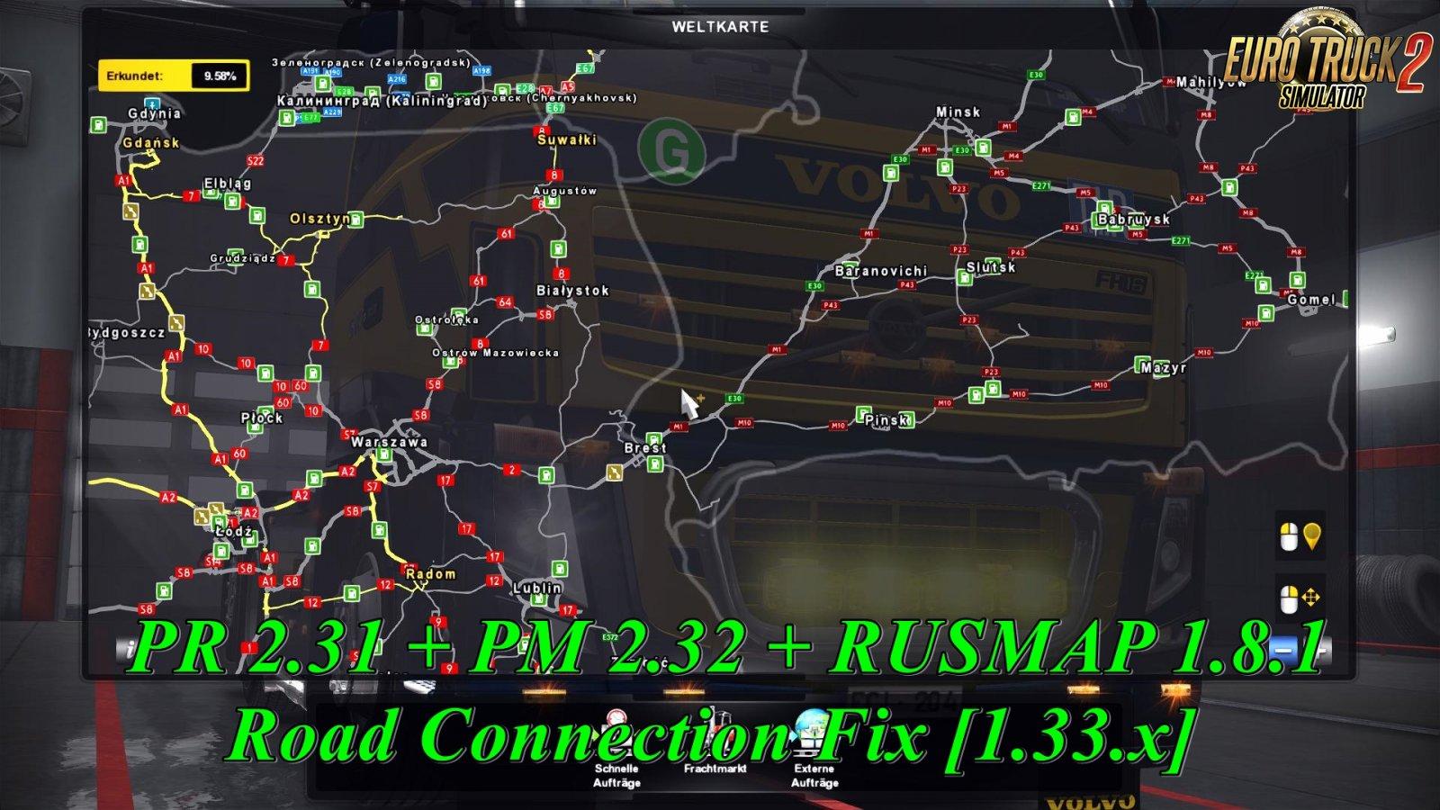 PR 2.31 + PM 2.32 + RUSMAP 1.8.1 Road Connection Fix [1.33.x]