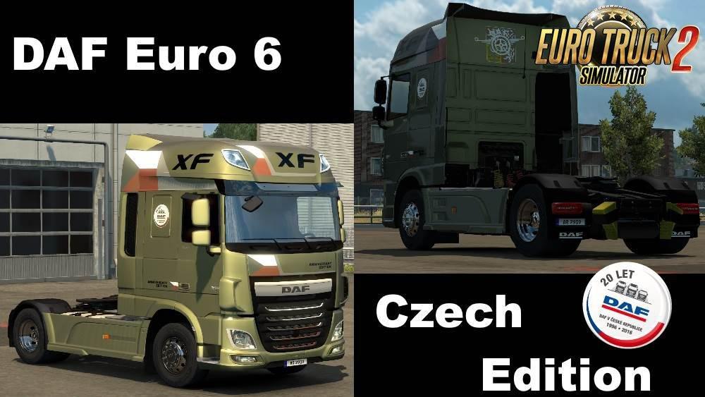 DAF XF Euro 6 Editions SkinPack v1.0