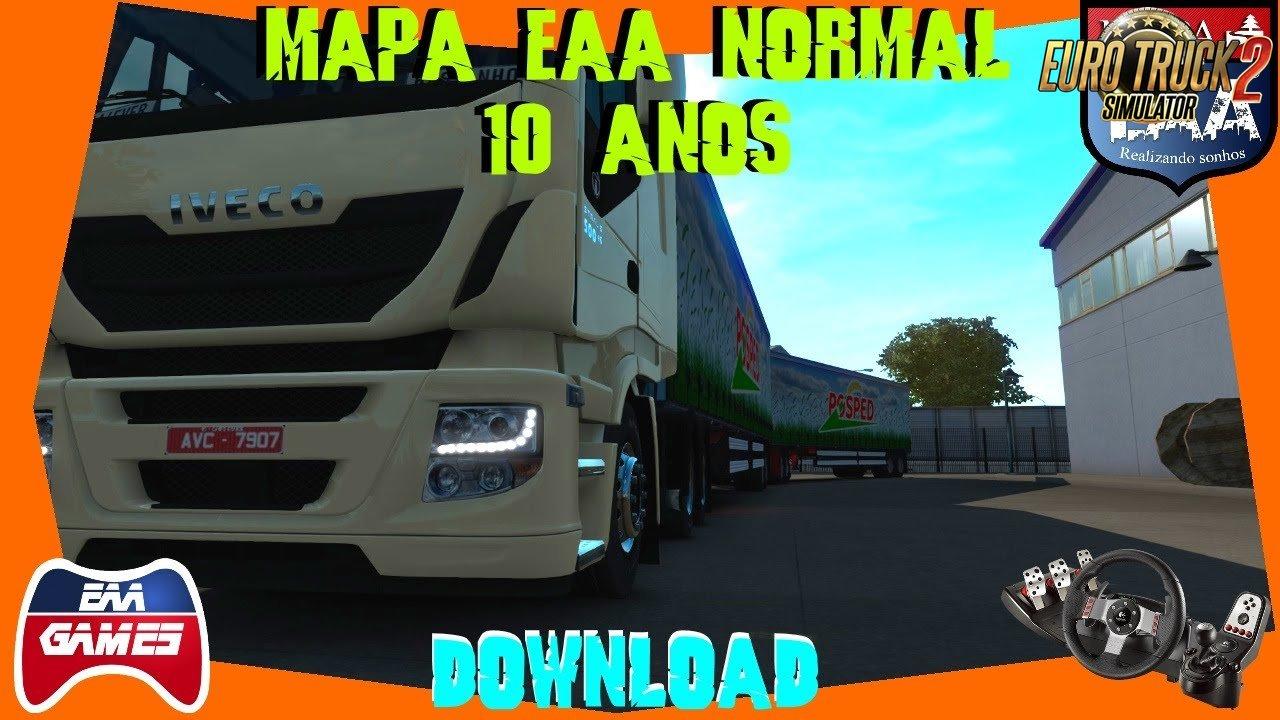 MAPA EAA NORMAL 10 ANOS - Update [1.34.x]
