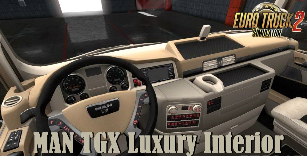 MAN TGX Luxury Interior v1.0 (1.34.x)