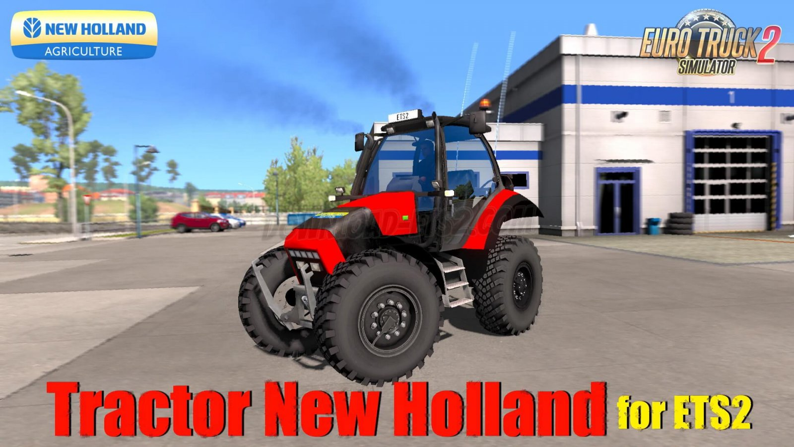 Tractor New Holland v1.0 by Souza SG (1.34.x) for ETS2