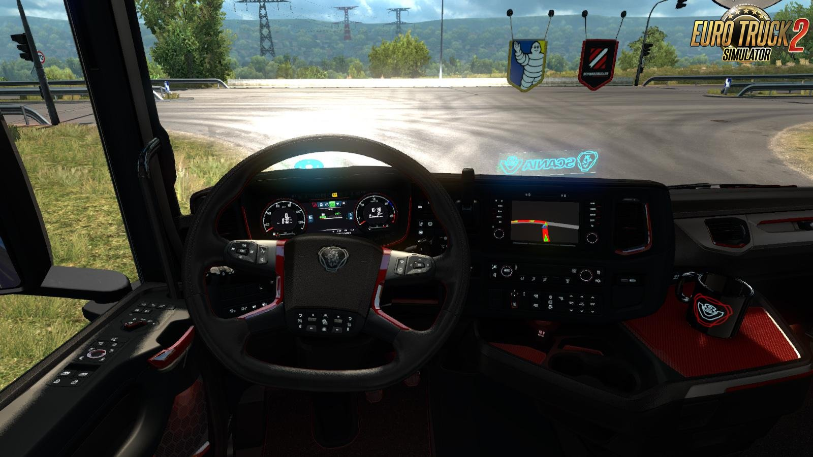 Platinium Interior for Scania Next Generation v1.0 (HQ)